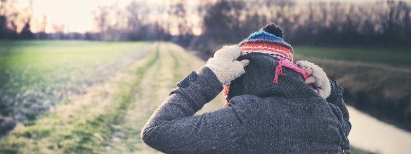 Do zahrady se v zimě dobře oblečte